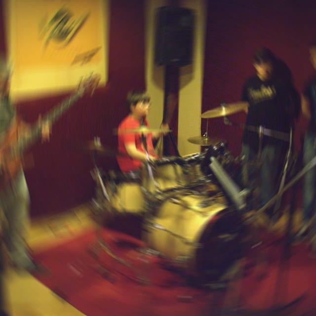 La sala regia dello studio di registrazione the jack di giugliano